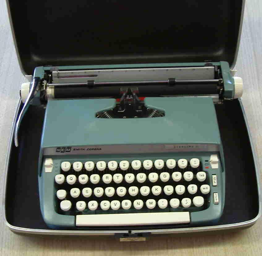 Restored Vintage Typewriters