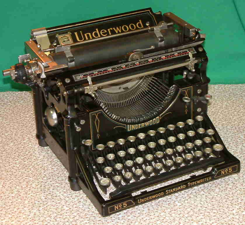 Underwood typewriter service manual